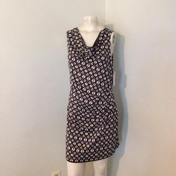 Athleta Dresses & Skirts - Athleta Brown Print Sheath Dress S NWT